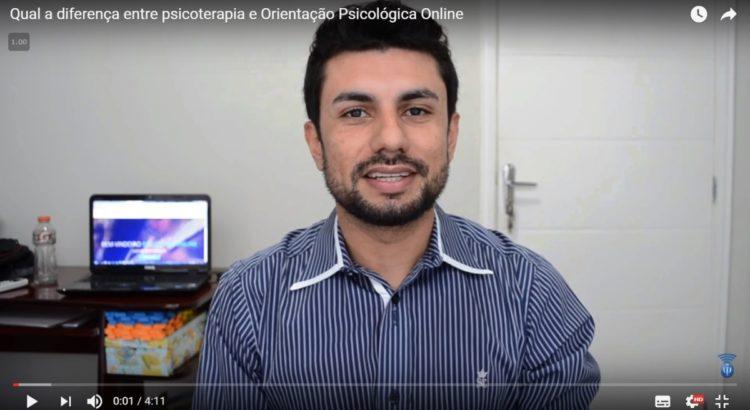 Qual a Diferença Entre Psicoterapia e Orientação Psicológica Online?