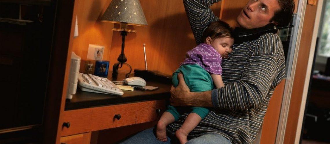 estresse na paternidade